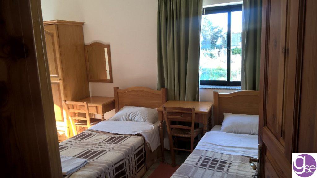 Die Zimmer in der Schulresidenz befinden sich nur 3 Minuten vom Zimmer bis zur Sprachschule in Malta GSE
