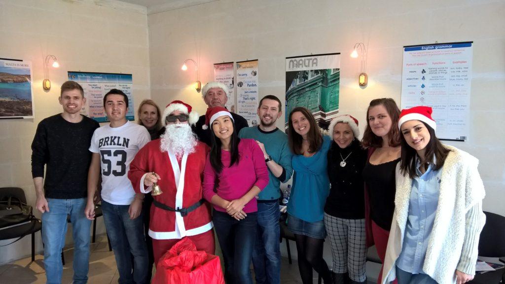 Englisch lernen in Malta während Weihnachten - Gateway School of English