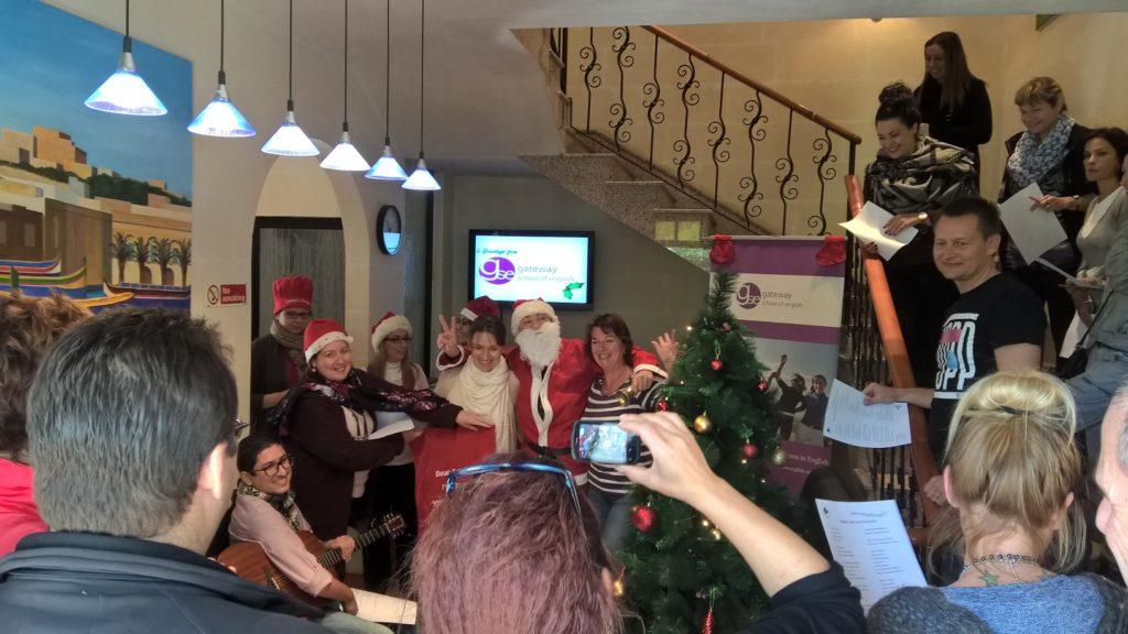 Weihnachten in Malta beim Englisch lernen GSE