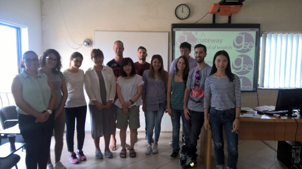 An der Gateway School of English werden Sprachschüler aus aller Welt unterrichtet.