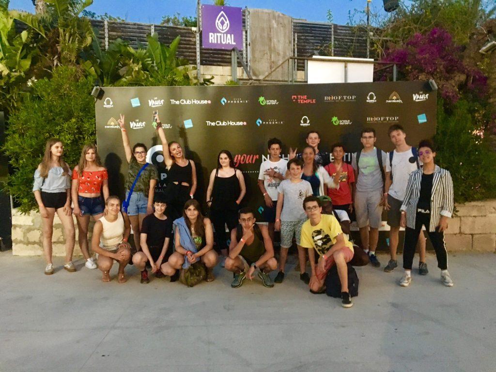 GSE Malta FELTOM Party Jugendsprachreisen Aktivitäten freizeit malta sprachreisen