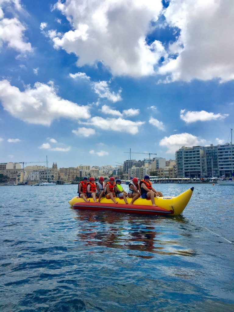GSE Malta Jugendsprachreisen fur kinder watersports St Julians