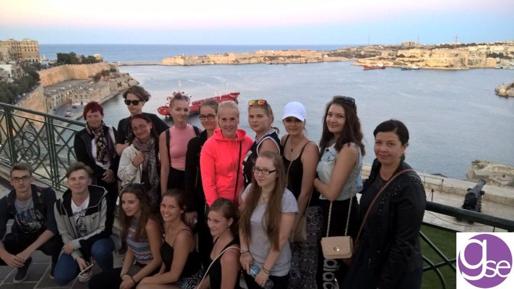 Sprachreise für die Jugendlichen Gruppen Sprachschüler zwischen 13 und 17 Jahren Malta GSE