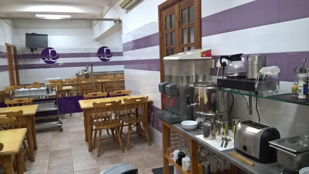 Frühstücksraum für Schüler, die in Malta mit GSE Englisch lernen 2