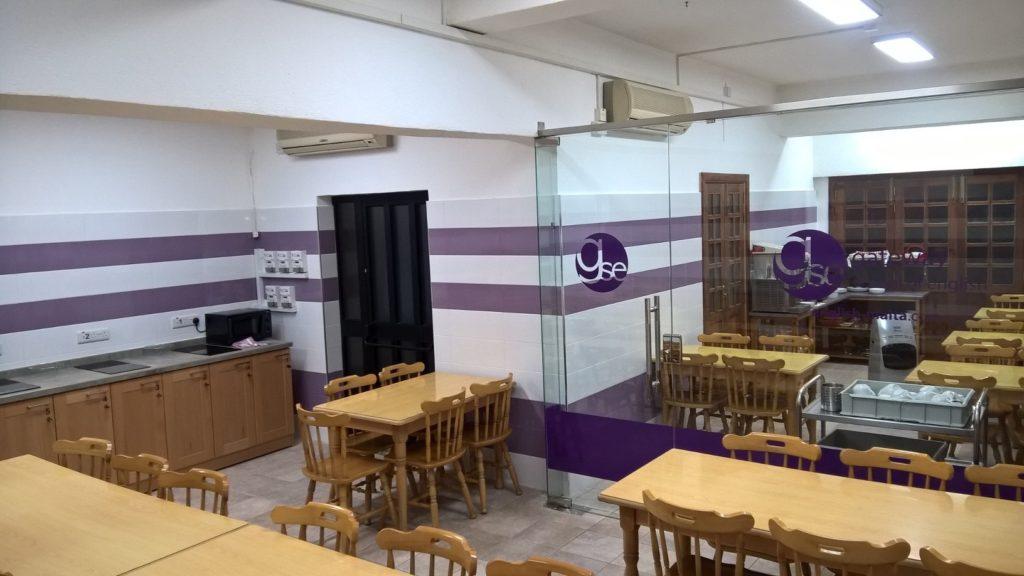 Frühstücksraum für Schüler und Studenten, die in Malta mit GSE Englisch lernen Gateway School of English