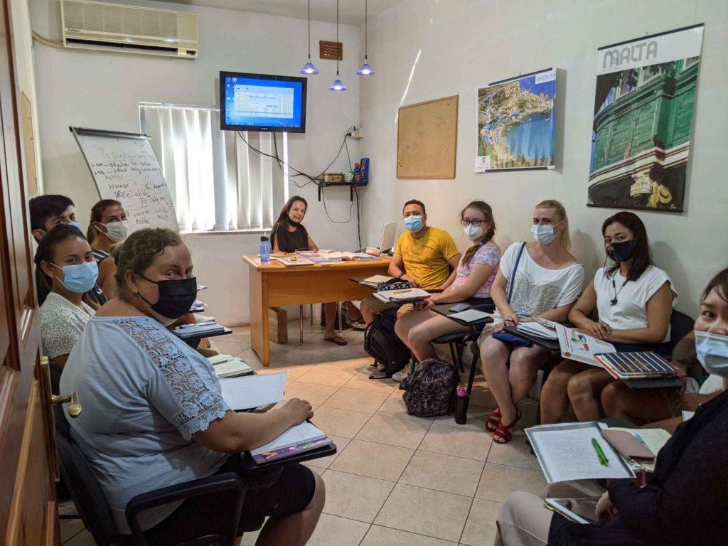 Gateway School of English Englischschule und Kurse für Erwachsene St Julians Malta (resized)